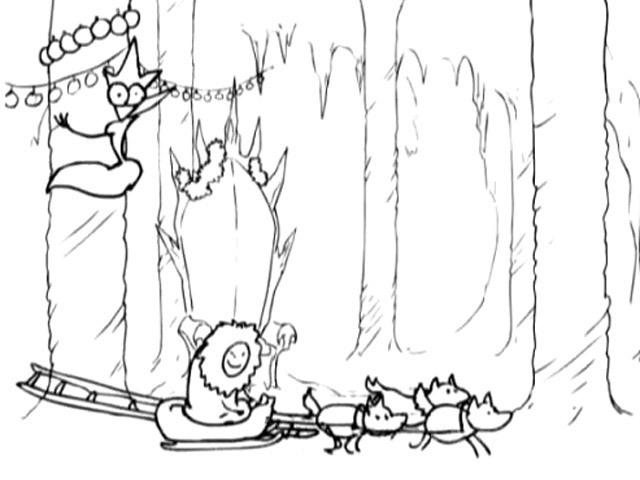 Снежная Королева против лапландского оленевода - Юмор - Видео